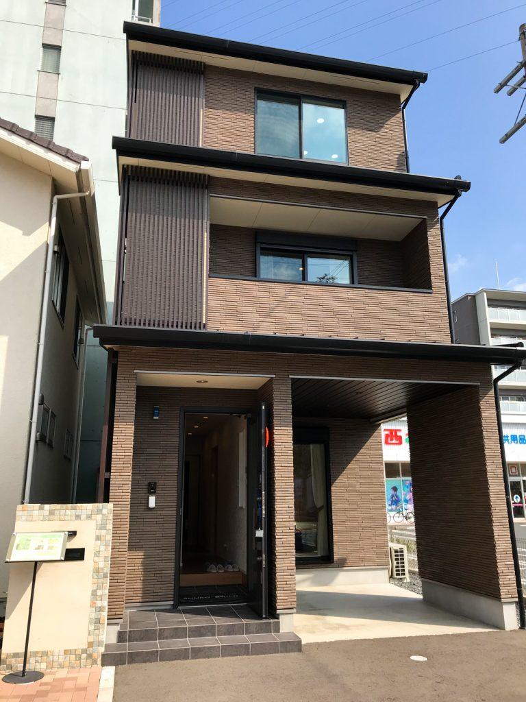 京都展示場 3階建モデルハウス見学会